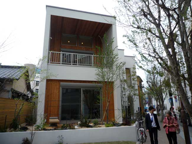 福岡のマクロビオティック住宅 外観