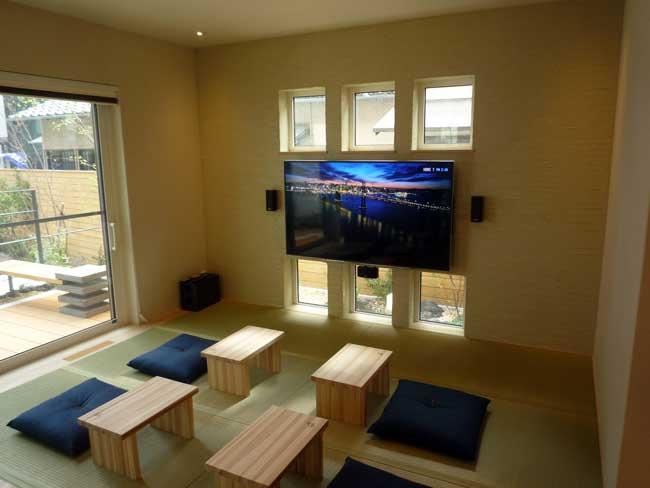 マクロビオティック住宅 畳の部屋