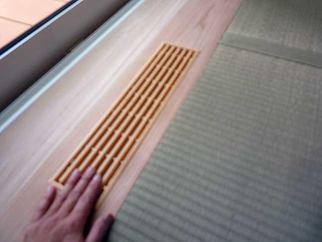 マクロビオティック住宅 地熱の利用
