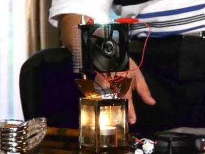 ペルチェ式温度差発電