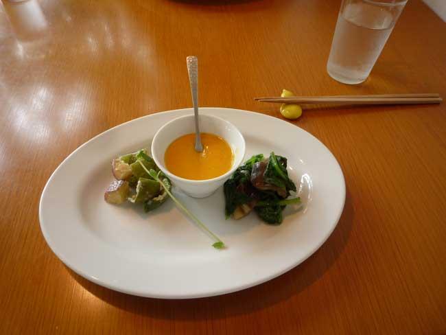 自然食NIIHARA にいはらご飯 前菜